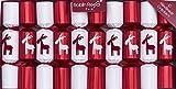 Robin Reed 10 x 8.5 Handmade Christmas Crackers - Merry Christmoose