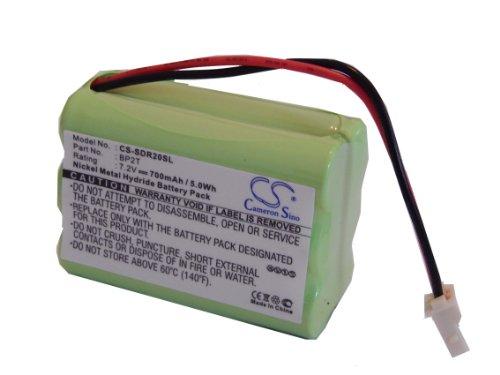 vhbw Batterie pour Dogtra Training Collar 2000NC, 2002NC, 2000NCP, 2002NCP comme BP2T, BPRR.