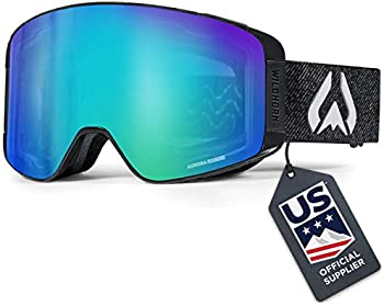 Wildhorn Pipeline Wide View Anti-Fog Cylindrical Snowboard Goggles