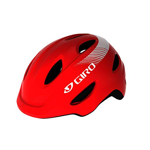 Giro Scamp MIPS Youth Recreational Bike Cycling Helmet - Extra Small (45-49 cm), Matte Bright Red (2021)