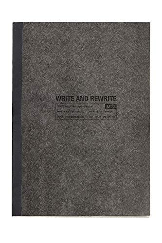 MIQUELRIUS 1176 – Cuaderno Encolado A4, tapa blanda, 48 Hojas Horizontal Just Black