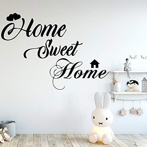 Sweet Hut Pvc Wandaufkleber Zimmer Home Decoration Grau M 28cm X 39cm