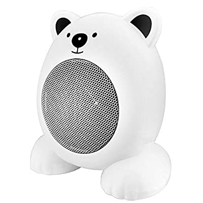 BXzhiri Personal Mini Space Heater Fan, Cartoon Mini Space Portable Electric Home Office Indoor Heater Fan for Living Room, Bedroom, Office