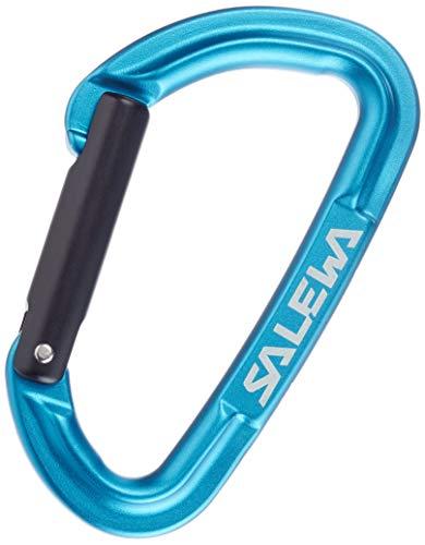 SALEWA Unisex– Erwachsene HOT G3 STRAIGHT CARABINER, Blue, normal