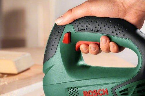 Scie Sauteuse Filaire Bosch - PST 650 (500 W, Livrée avec Coffret de Rangement et 1 Lame de Scie pour Bois T144D)