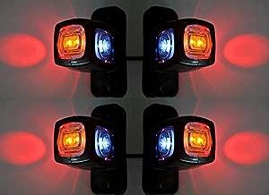 8 X LED 12 V//24 V rimorchio//veicolo Luci di delimitazione.