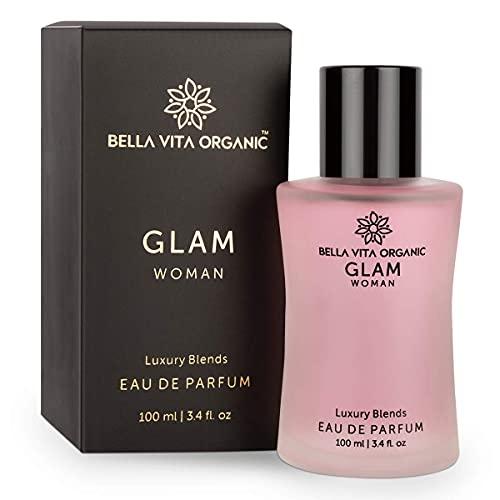 Glamorous Hub Bella Vita Perfume Orgánico Glam Para Mujer Fresco Y Romántico, 100 Ml