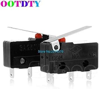 Paul My 2pcs/lot C+NO+NC Micro Limit Sensor Switch Roller Arm Lever Subminiature 3A 250V AC APR22_0 New