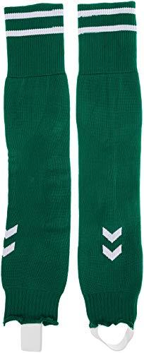 hummel Element Football Sock Footless, Evergrün/Weiß, One Size,Evergrün/Weiß,Einheitsgröße