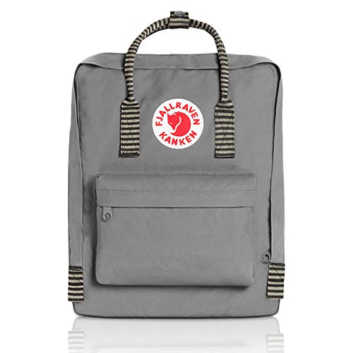 Fjallraven - Kanken Classic Backpack for Everyday, Fog/Striped