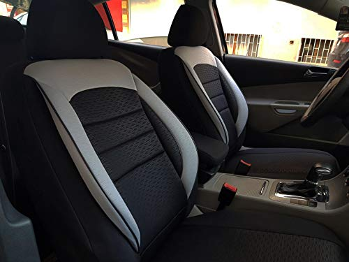 günstig k-Maniac Sitzbezug Toyota Verso S Universal Sitzbezug Schwarz Grau… Vergleich im Deutschland
