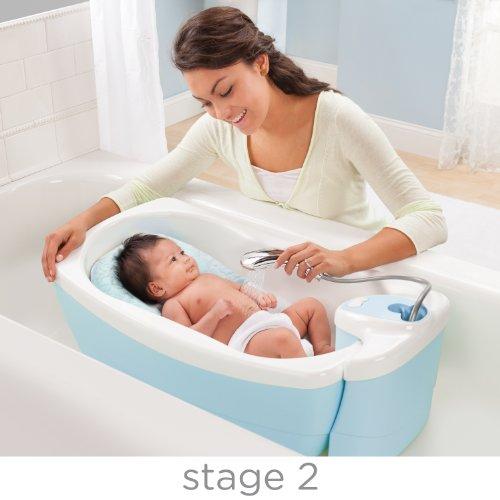 Summer Infant 18866 Lil' Luxuries Whirlpool, Sprudelbad und Dusche, mehrfarbig - 2