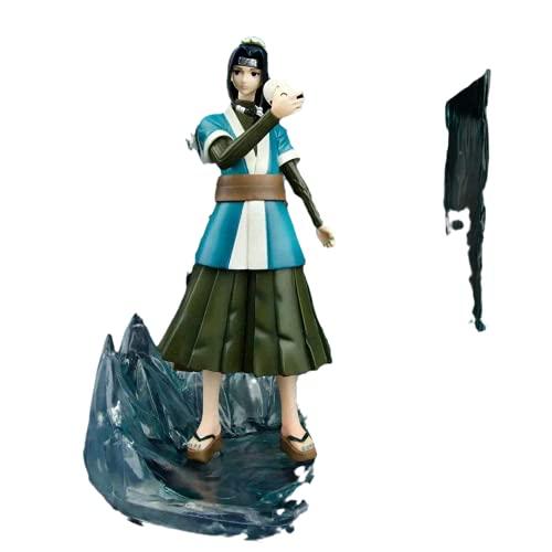 MixFactory Naruto Momochi Zabuza Espejo Cristal de Hielo Niebla Shinobi Material de PVC Blanco Figura de Anime Modelo Juguetes en Caja Colección de Regalos