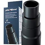 Plemont® adattatore per aspirapolvere [Made in Germany] - tubo adattatore aspirapolvere per rettificatrice, seghetto alternativo, sega circolare, levigatrice eccentrica - riduttore universale
