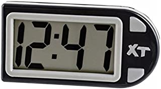 Custom Accessories 25211 Plastic Easel Stand Digital Clock, Black
