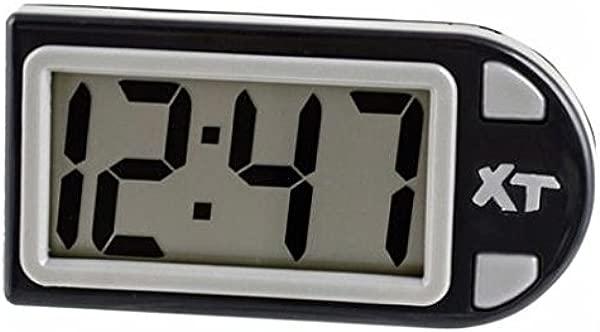 Custom Accessories 25211 Plastic Easel Stand Digital Clock Black