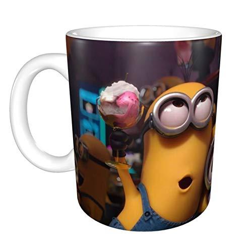 Taza de té con diseño de Minions sin plomo, regalo personalizado para mujeres, mamá, profesora, hermana, cumpleaños, Navidad