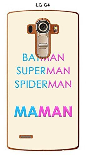Onozo Coque LG G4 Design Maman vs Batman
