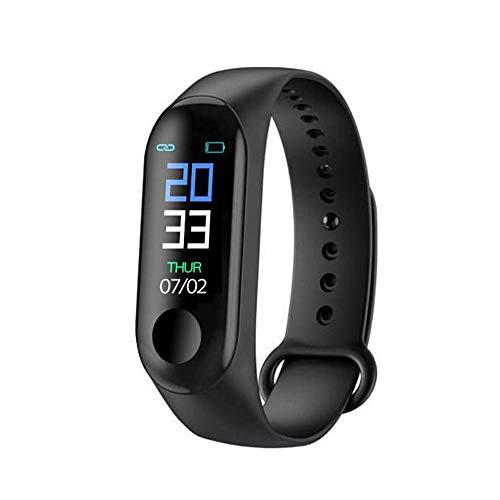 TEEPAO M3 Fitness Tracker Aktivitäts-Tracker Smart Armband Sportband Armband Sportuhr mit wasserdichtem Herzfrequenz-Schlafmonitor Schrittzähler Kalorienzähler für Männer Frauen