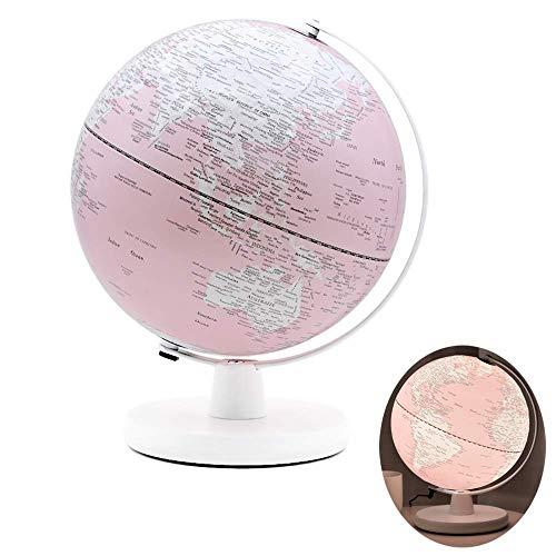 Världsglob, upphöjd relief, uppdaterad kartografi, geografiska inlärningsverktyg, dekorativa hemtillbehör, pedagogisk barngåva