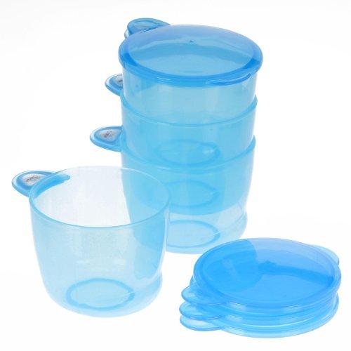 Vital Baby 4 Pots - Bleu - 180 ml