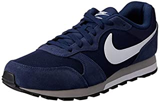 Nike Md Runner 2 - Zapatillas de correr para Hombre, Azul Marino (Azul Marino/Blanco/Gris), 42 EU (B00PYDW6IM) | Amazon price tracker / tracking, Amazon price history charts, Amazon price watches, Amazon price drop alerts