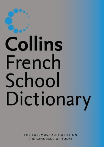 Image OfCollins School  Collins French School Dictionary