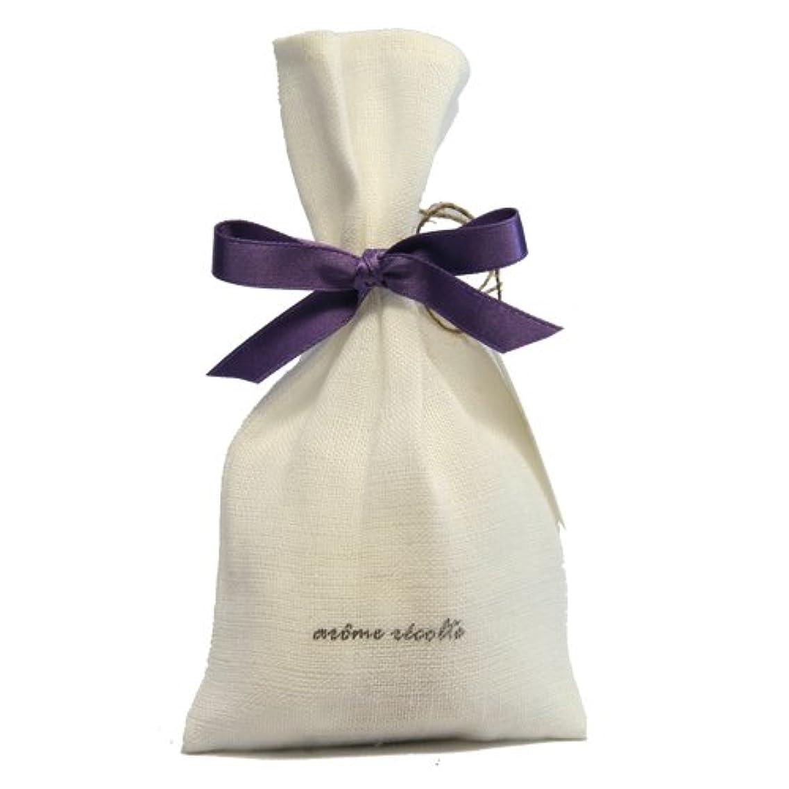 のためにファイナンス後ろ、背後、背面(部アロマレコルト ナチュラルサシェ(香り袋) フローラル【Floral】 arome rcolte