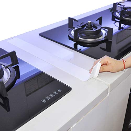Kitchen Silicone Stove Counter Gap Cover 25 inch Long Extra Wide Stove Gap Filler Range Strips product image