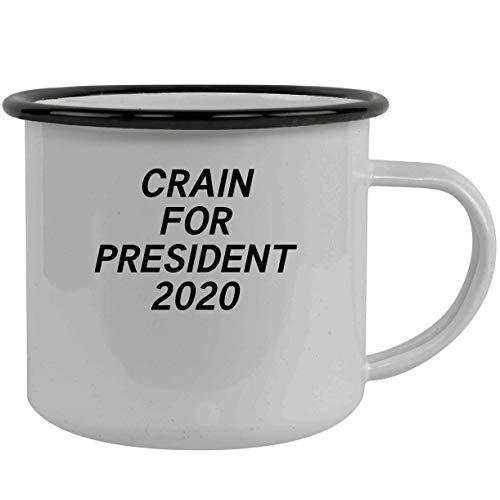 Crain For President 2020 - Stainless Steel 12Oz Camping Mug, Black