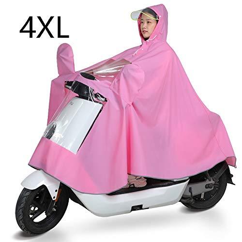 MUHONG Aumentar La Motocicleta Eléctrica Impermeables del Impermeable Y Transpirable Individual Femenino...
