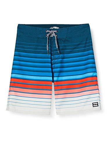 Billabong Jungen Shorts All Day Stripe OG BO, Navy, 8, S2BS21