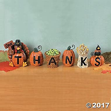 Give Thanks Blocks - Decorative Accessories