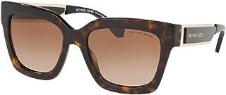 نظارات شمسية مربعة للنساء من مايكل كورس MK2102 مع مجموعة مجانية للعناية بالنظارات
