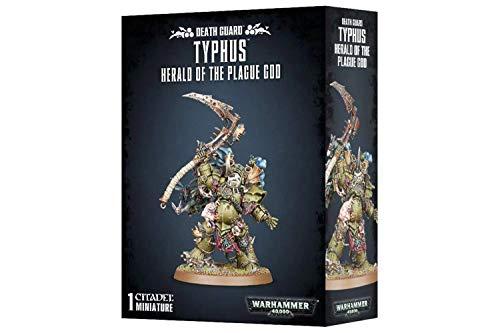 Games Workshop Warhammer 40k Death Guard Typhus, Herald of The Plague God