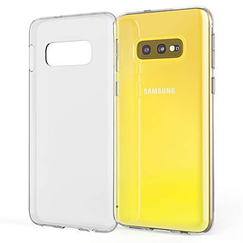 NALIA Handyhülle kompatibel mit Samsung Galaxy S10e Hülle, Dünne Durchsichtige Silikon Schutzhülle Phone Hülle Soft Cover, Ultra-Slim Bumper Gummi Handy-Tasche Skin Etui Schale Klar - Transparent