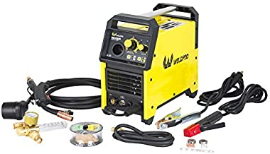 Weldpro 155 Amp Inverter MIG/Stick Arc Welder with Dual Voltage 240V/120V welding machine, spool gun capable
