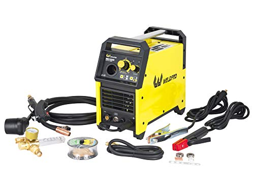 Weldpro 155 Amp Inverter MIG/Stick Arc Welder with Dual Voltage 240V/120V welding machine, spool gun...