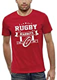 PIXEL EVOLUTION T-Shirt Rugby Biarritz Homme - Taille XL - Rouge
