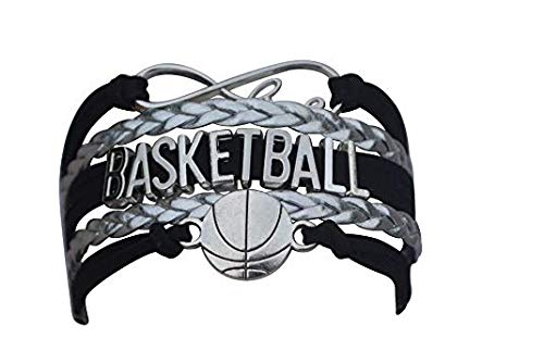 qws Basketball-Armband, Charm-Armband, Basketball-Schmuck, perfektes Basketball-Geschenk