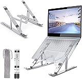 ONEKU Supporto PC Portatile [Aggiornato] con Angolazione Regolabile Porta Notebook Laptop Stand...