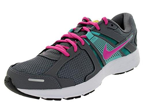 Nike Womens Dart 10 Ap Style: 580427-002 Size: 10.5 M US Grey/Sport Turq/Volt/Fusion Pink