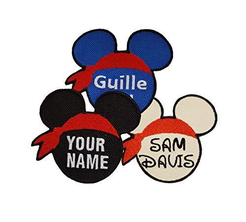 Emporium Embroidery - Parche Mickey personalizable