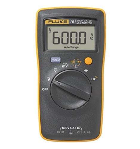 Fluke 101 Basic Digital Multimeter Pocket Portable Meter...