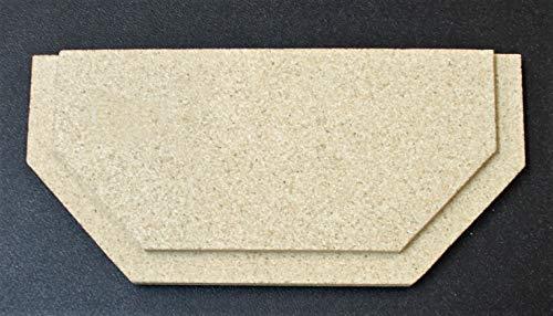 Zugumlenkung für Justus Usedom 5 Kaminöfen - Vermiculite - Passgenaues Kaminofen Ersatzteil