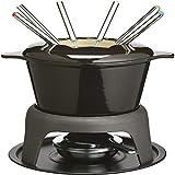 MDSQ Formaggio Pan di Formaggio Cioccolato Fonduta Barbecue Alcool Stufa in ghisa Fondue