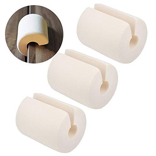 ドア ストッパー ストップ クッション ゴム製 柔らか 指挟み防止 サッと差し込み 滑り止め 扉 引き戸 玄関 室内 3点セット