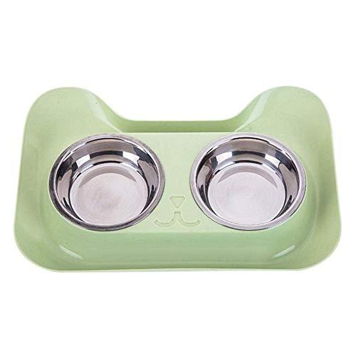 MLOZS Grundlagen Rod Eisen Halter Doppel Hund Bowl Universal Pet Feeder Teddy Bowl Katze Hundebedarf Katze Wasserschale, G, L Waschbar (Color : G3, Size : L)