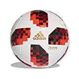 Adidas Ballon Telstar Knockout Stage Mini Ball Taille 1 Blanc/Rouge/Noir