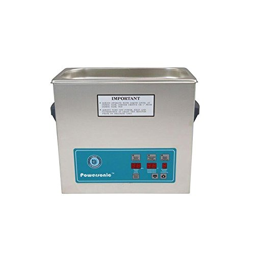 Crest Ultrasonics 0500PD045-1 Model P500 Table Top Cleaner with Power Control, Digital Timer/Heat, 1.5 Gallon Volume, 45 kHz/115V